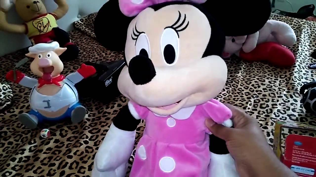 Disney Minnie Mouse Large Micky Mouse Awesome Disney Toys Youtube