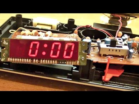 0209) convert 12 hour alarm clock to 24 hour mode youtube