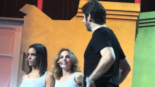 Shy'm, Kad Merad, Christophe Mae, Patrick Fiori, - Les Enfoirés - Strasbourg - Le 19.01.2014