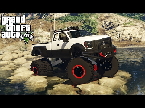 OFF-ROAD RACE TRACK CHALLENGE! 4x4 Off-Roading, Hill Climbing, Mudding! (GTA 5 PC Mods)