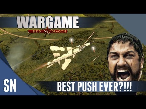 Wargame: Red Dragon Gameplay #94: Best Push Ever?!