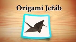Jak složit origami jeřába (česky a jednoduše)