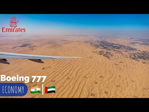 Emirates 🇦🇪 Bangalore - Dubai • Boeing 777 Flight Experience ✈