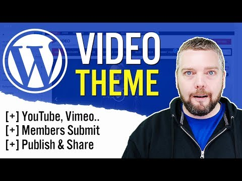 WordPress Video Theme Review | Best YouTube Wordpress Theme thumbnail
