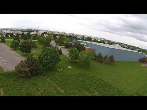 Camp X Oshawa Whitby area Drone Flight and slight crash STEELE