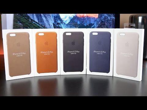 Apple iPhone 6s & 6s Plus Leather Case: Review (All Colors)