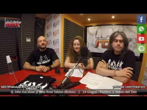 AC/DC Italia ospite a Linea Rock, Radio Lombardia - 21 Giugno 2016