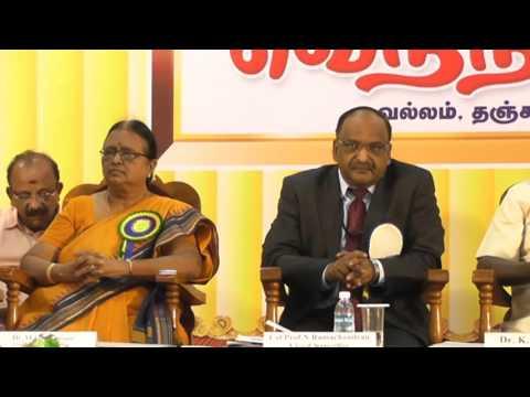 03-Vetri Nichayam-2016 -Hon'ble Dr.K.Bhaskaran, Vice chancellor, Tamil University