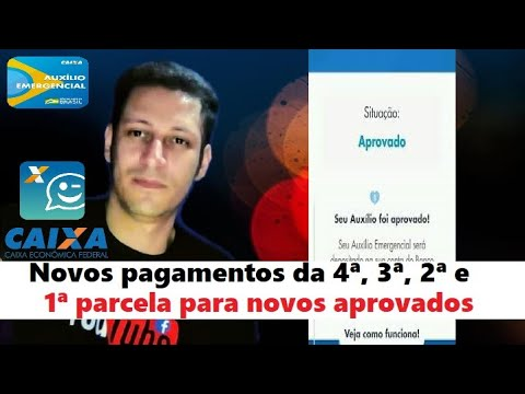 cadastro auxilio emergencial de 600 reais MEI e trabalhador informal aplicativo e site from YouTube · Duration:  3 minutes 27 seconds