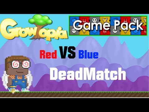 Growtopia: Game Pack Red Vs Blue DeadMatch