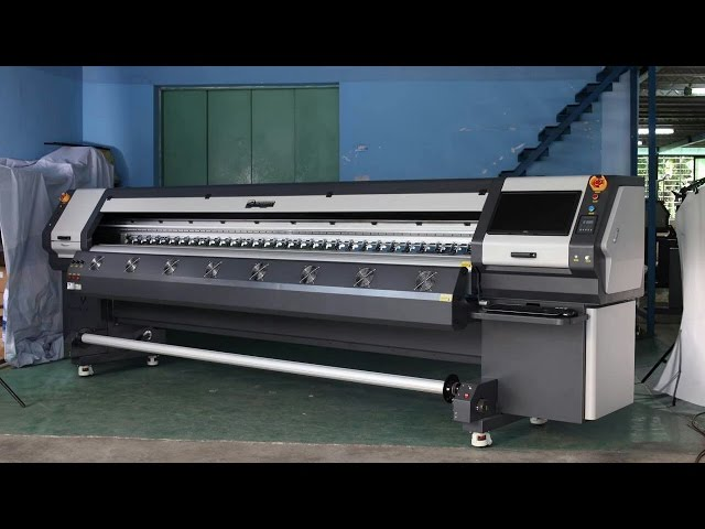 Bossron 3.2 M UV Printer Large Format Digital Printer UV Printing Machine With Industry Konica 512 I