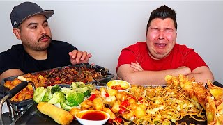 He's Back Home & Now It's Worse... MUKBANG