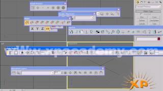 3D Max Urdu Tutorials | toolbar show