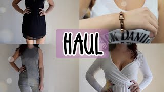 COLLECTIVE TRY ON HAUL |  Gina Tricot, Michael Kors, H&M , Kappahl m.m.