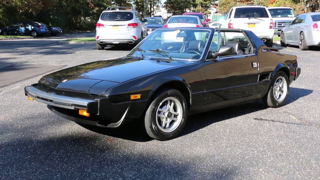 only $9,995 - 1982 fiat x19 bertone for sale - youtube