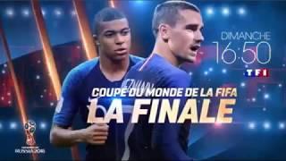 FINALE DE LA COUPE DU MONDE 2018 - FRANCE v CROATIE | [BANDE ANNONCE]