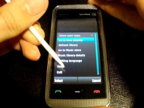 Nokia 5530 - Firmware v30.0.009