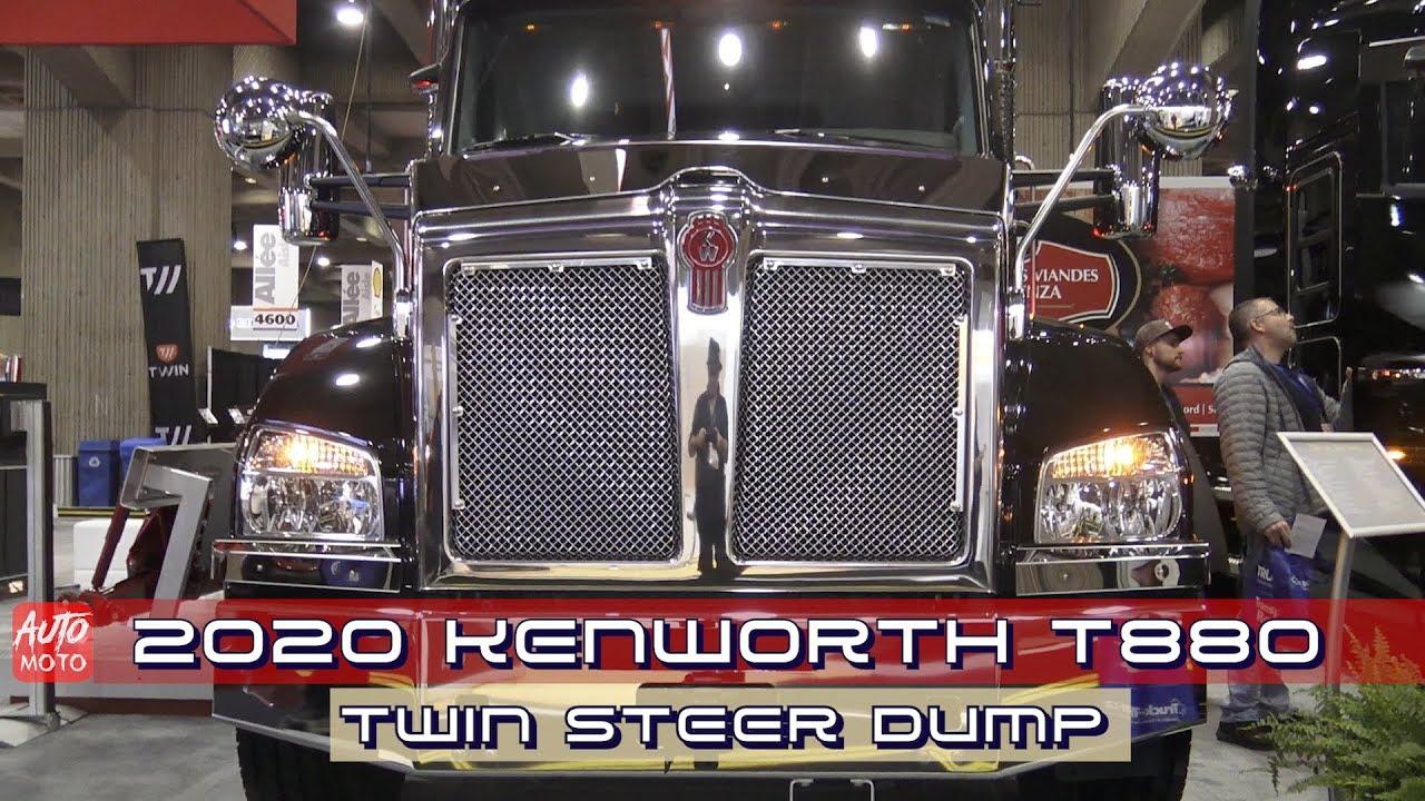 Kenworth T880 Twin Steer Dump