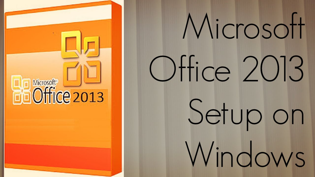 Microsoft Office 2013 Setup on Windows - Office 365 Home Premium Preview