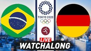 Brazil vs Germany Tokyo 2020 LIVE Watchalong Olympics Football Live