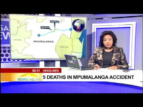 Five deaths in Mpumalanga accident