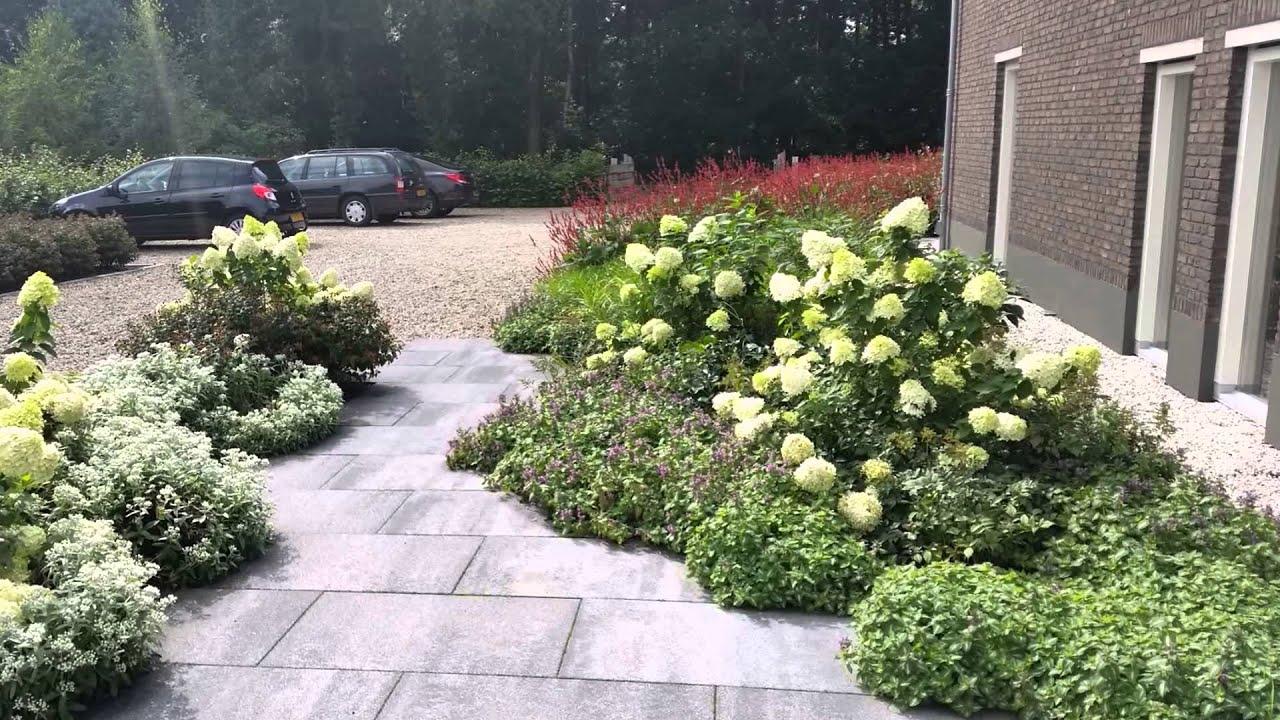 Natuurlijke tuin ontwerpen voorbeelden youtube for Ontwerp voortuin met parkeerplaats