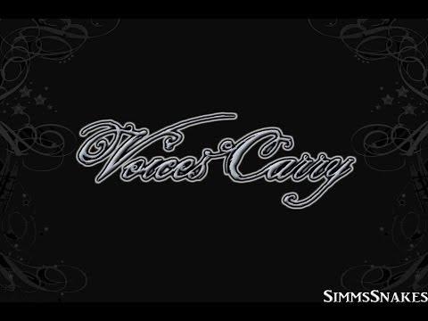 Voices Carry(Cover) - Juliet Simms lyrics