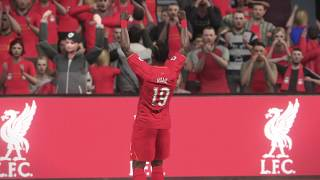 PES 2017 - Sadio Mané vs. Tottenham