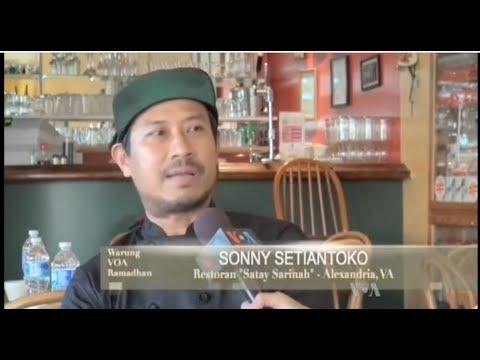 Mengunjungi Restoran Indonesia di Amerika (2) - Warung VOA Ramadan