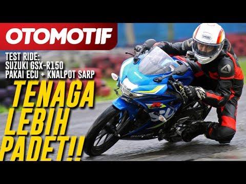 Test Ride: Suzuki GSX-R150 Pakai ECU + Knalpot SARP, Tenaga Lebih Padet!!