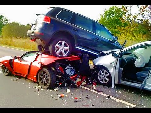 2018 Scary epic car crash compilation HD Warning very