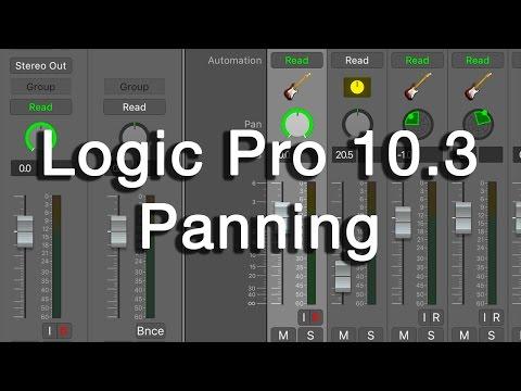 Logic Pro X 10.3 Panning Options Walkthrough (Stereo Pan, Balance, Binaural)