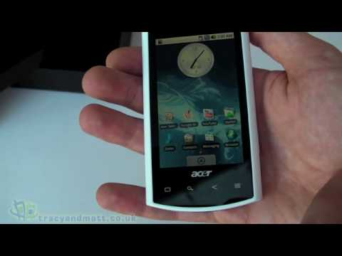 Acer Liquid unboxing video