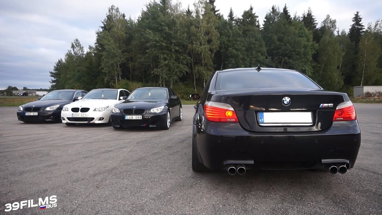 Bmw 530d E60 Amp Bmw M5 E60 39films Youtube