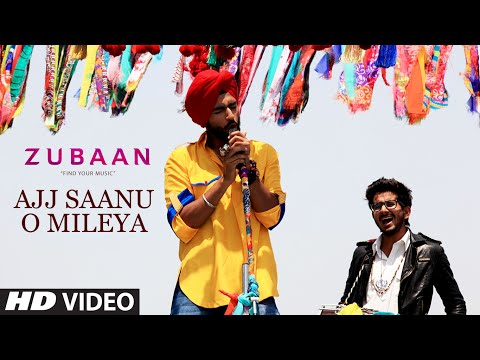 Ajj Saanu O Mileya (The Anthem of Dreams) Video Song | ZUBAAN | Vicky Kaushal, Sarah Jane Dias