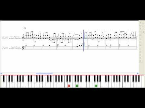 Chiisana Shashin (My Neighbor Totoro OST) ~ Music Piano Sheet