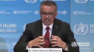 wATCH LIVE: COVID-19: World Health Organization news conference on novel coronavirus