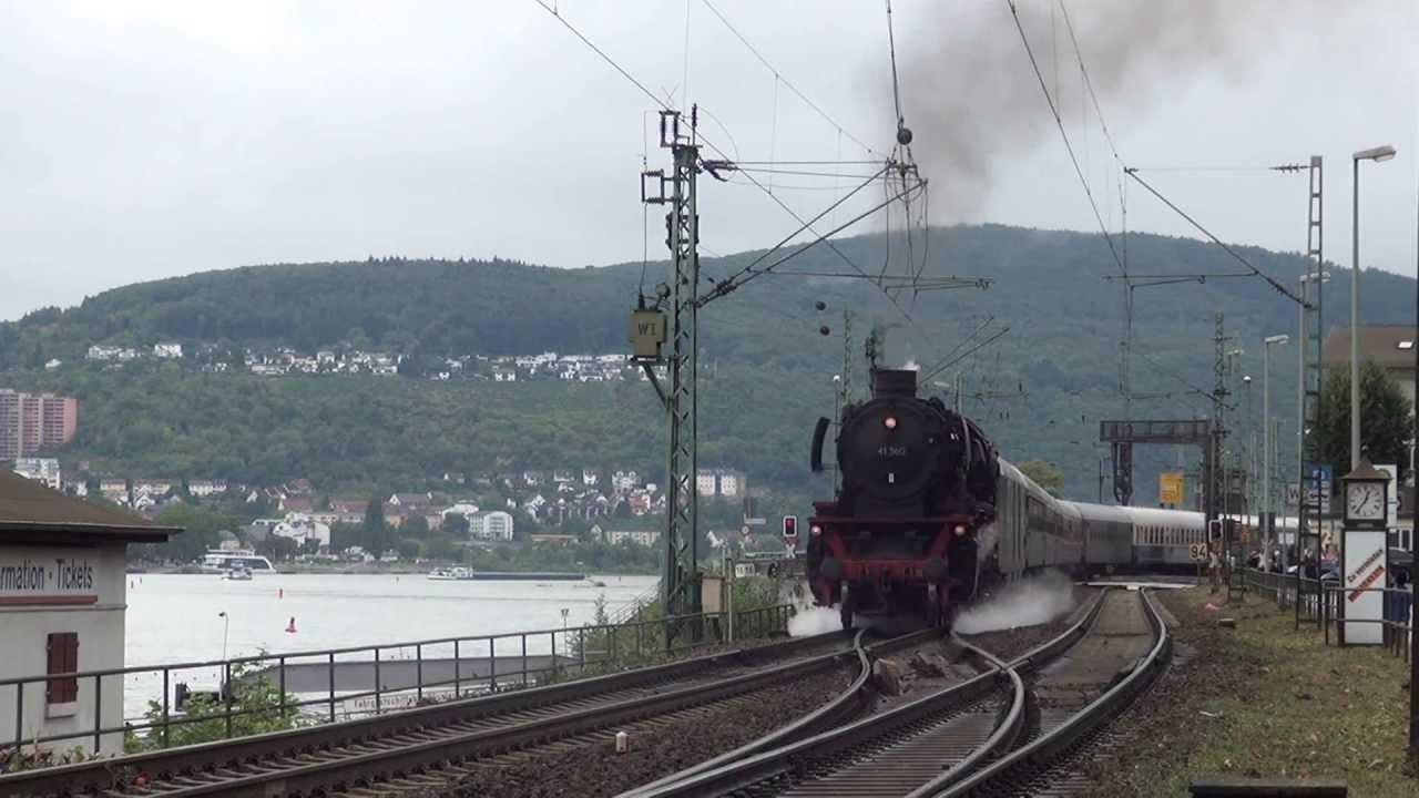 Dampflok Im Rhein