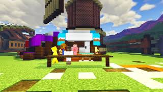 MINECRAFT FARMYARD PALS - NO SUGAR FOR THE CAKE (Minecraft Roleplay Animation)
