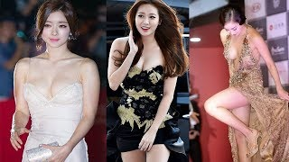 TOP 10 Most Revealing Red Carpet Dresses Worn By Korean Stars