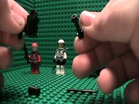 Lego Halo Minifigures Saber Scorpion Mongoose Instructions Youtube