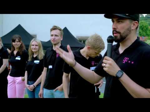 Social Media Post: Telekom @ Students on the Rocks