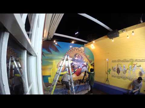 El Topo Mexican Mural Artist Timelapse