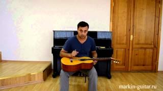 Замена струн на классической гитаре. Урок № 13
