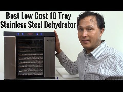 Best Low Cost 10 Tray Stainless Steel Dehydrator Review
