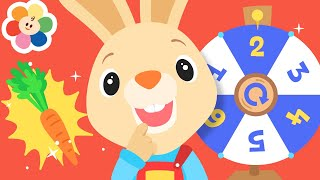 Play Baby Games with Harry The Bunny & GooGoo | Learn Numbers & Colors with Fun Animation Kids Games