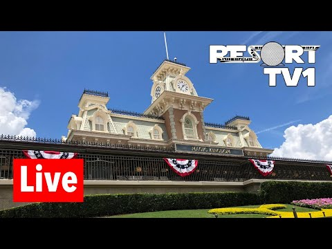 🔴 Magic Kingdom Live Stream - 6-22-18 - Walt Disney World
