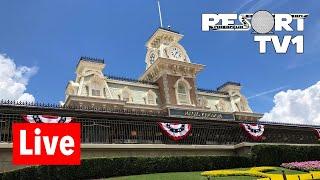 🔴 Magic Kingdom Live Stream - 6-22-18 - Walt Disney World