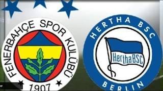 Fenerbahçe & Galatasaray hazırlık maçları