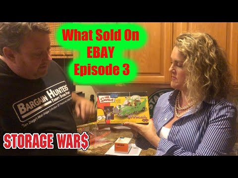 What Sold on Ebay Storage Wars Reselling Tips Episode 3 Auction Sales